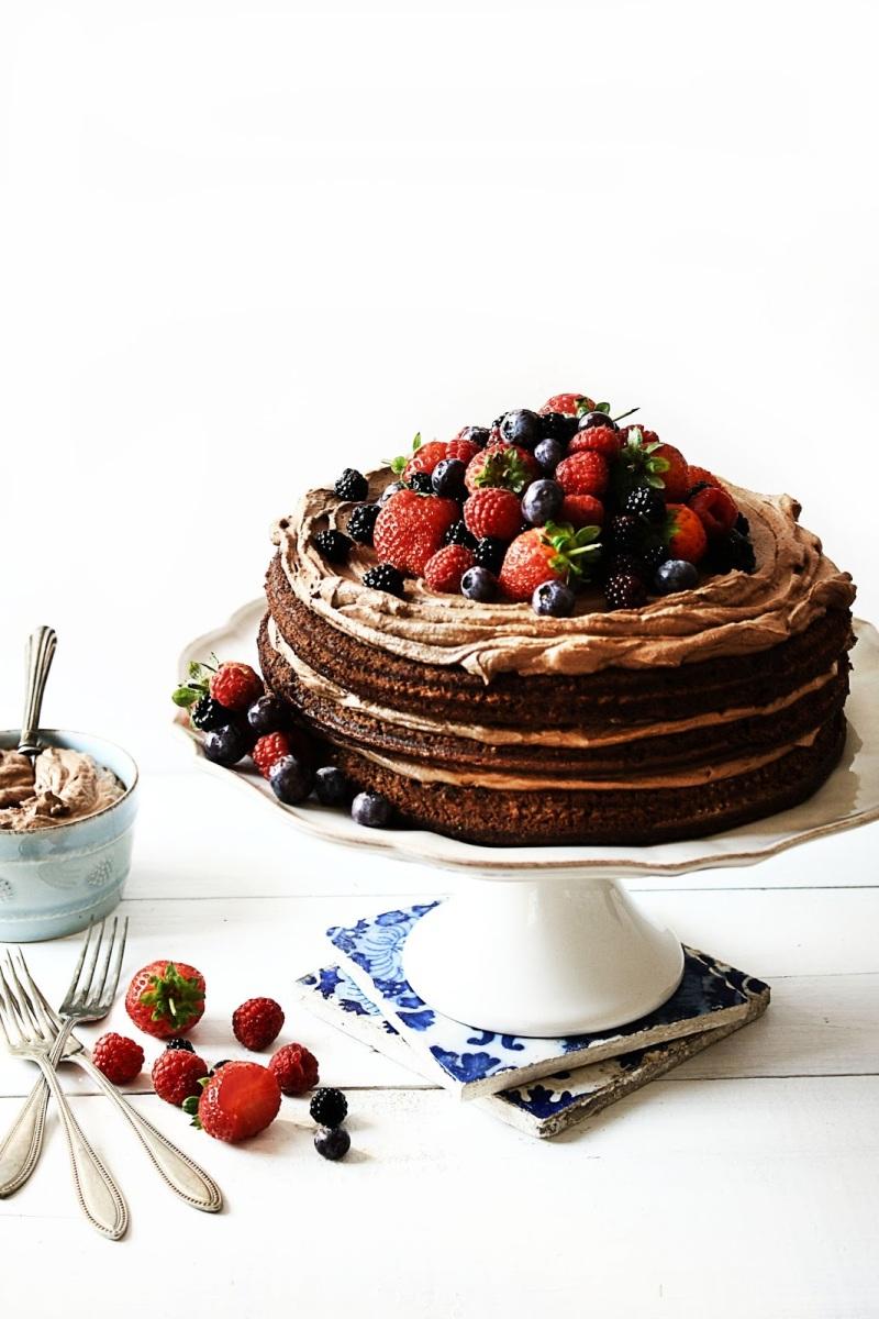 Bolo de aniversário | Birthday cake